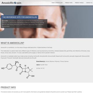 Amoxicillin.com - The official site for amoxicillin information