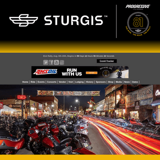 Sturgis Motorcycle Rally 2021 - Concerts, Music Festival