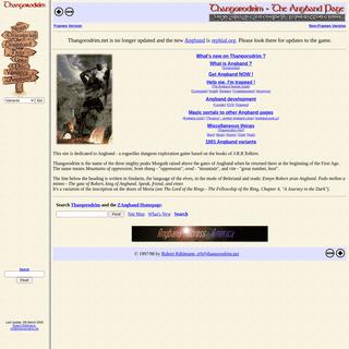 Thangorodrim - The Angband Page