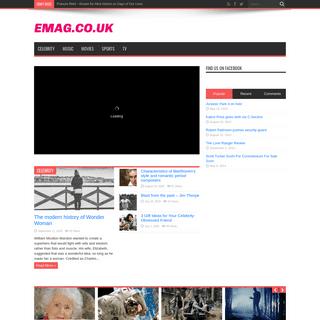 Emag.co.uk - Entertainment News Leader