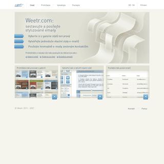 Hlavní stránka - Weetr.com