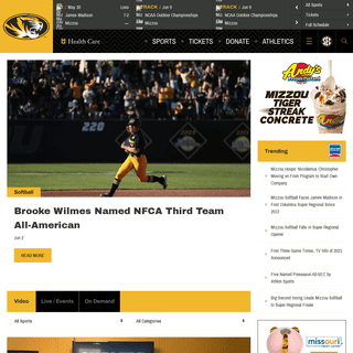 University of Missouri Athletics - Official Athletics Website