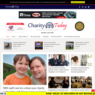 Charity Today News - The nation`s leading charity news publication!