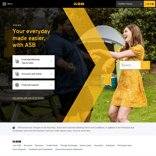 ASB Bank - Personal & Business Banking in New Zealand