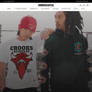 Streetwear Clothing- Men & Women's Fashion - Crooks & Castles