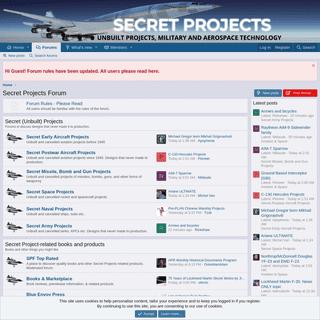 Secret Projects Forum