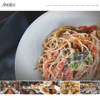 Home - Amerigo Italian Restaurant