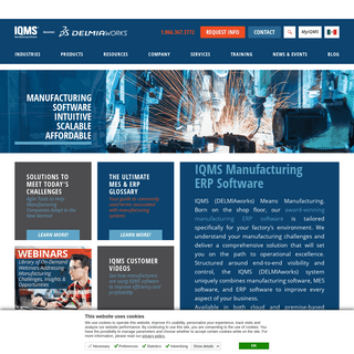 IQMS Software - Delmiaworks Manufacturing ERP Software