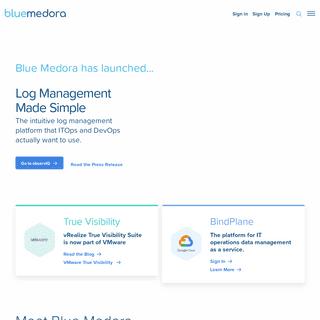 Blue Medora - IT Monitoring Integration As A Service