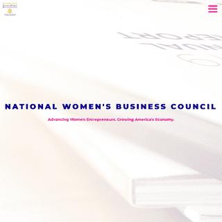 #NWBC – Advancing Women Entrepreneurs. Growing America`s Economy