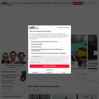 Die stärkste Motorrad Seite im Internet - 1000PS.de