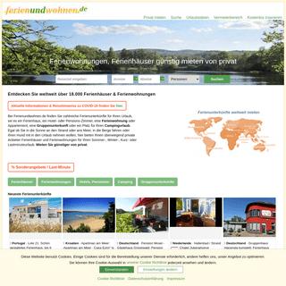 ▷ Ferienwohnungen & Ferienhäuser von privat günstig mieten