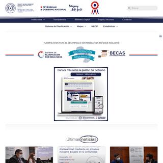 Secretaría Técnica de Planificación del Desarrollo Económico y Social – Sitio oficial de la Secretaría Técnica de Planif