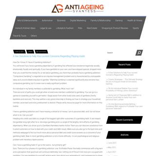 Anti Ageing Svantess