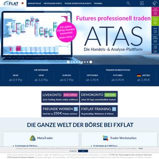 FXFlat Online Broker - fxflat.com
