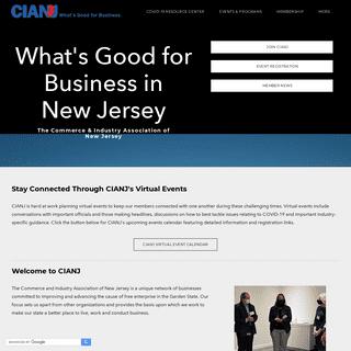 CIANJ - Org Name - Address