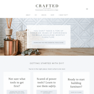 Crafted by the Hunts - Practical DIY Tutorials and Design Tips