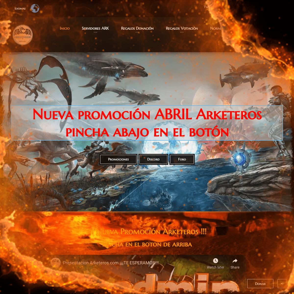 Arketeros España – Servidores de ARK Survival Evolved