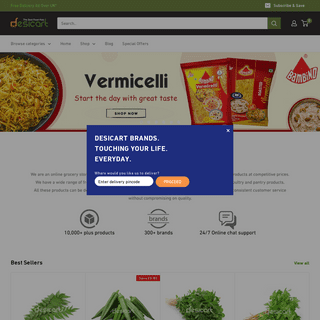 Indian Grocery Online- Indian Supermarket online- Indian Grocery Store