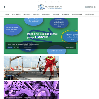 Planet Lean- the official online magazineof the LGN