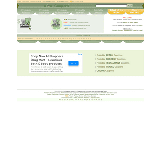 Wow-Coupons - #1 Deals source of Free Online, Printable retail, Grocery store and Restaurant Coupon Codes.