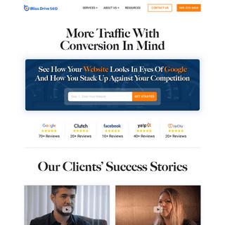 SEO Company & Digital Marketing Agency - Bliss Drive