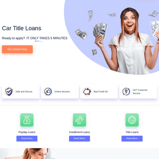 Car title loans – the best conditions of getting a loan