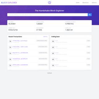 BlockExplorer.com - Home