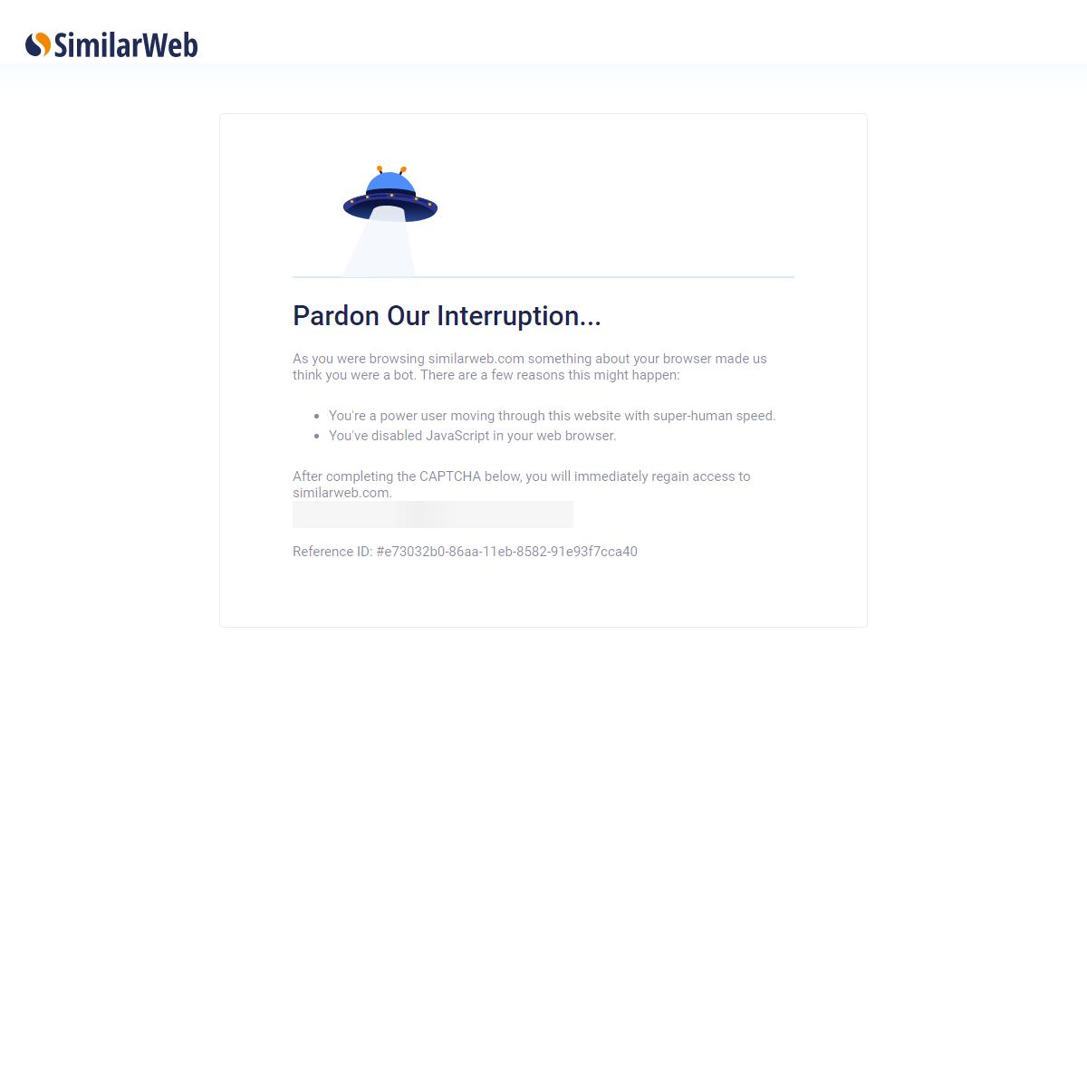Website Traffic Analysis & Competitive Intelligence - SimilarWeb