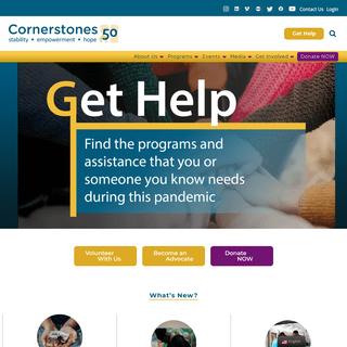 Cornerstones – Hope for tomorrow today