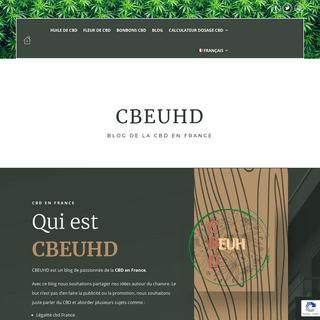 Le blog du CBD en France - CBEUHD