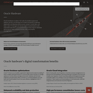 Hardware - Oracle
