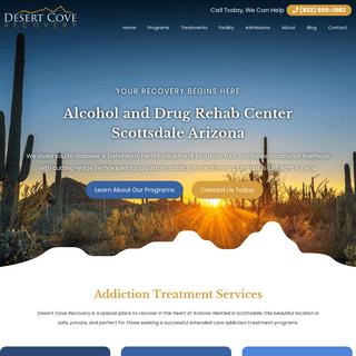 Desert Cove Rehab Center in Scottsdale Arizona