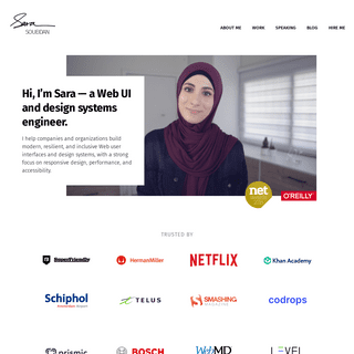 Sara Soueidan — Freelance Front-End UI-UX Developer