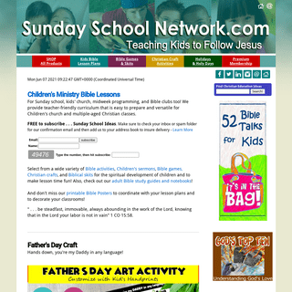 Children`s Ministry Sunday School Lessons, Biblical Skits, Christian Crafts, Bible Games