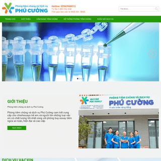 Phòng tiêm chủng Vắc-xin và dịch vụ Phú Cường