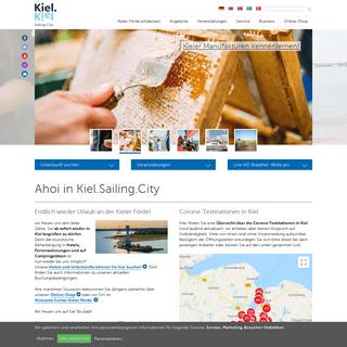 Ahoi in Kiel.Sailing.City -- Kiel Sailing City