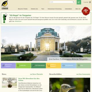 Startseite – Tiergarten Schönbrunn