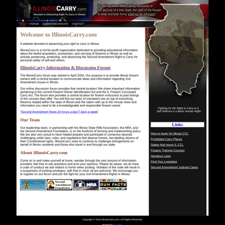 Illinois Carry - A Website Dedicated To Advancing Conceal Carry For Illinois