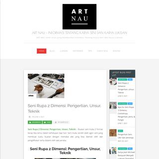 ART NAU - Informasi Tentang Karya Seni dan Karya Lukisan