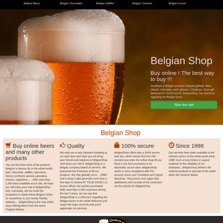 Buy Belgian beers, chocolates, waffles, cheeses, speculoos... online-The Belgian Shop from Belgium