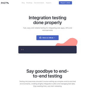 Pact - Microservices testing made easy