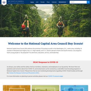 Home - National Capital Area Council