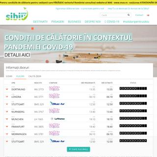 Aeroportul Internațional Sibiu. Zboruri directe din Sibiu