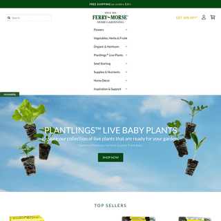 Ferry-Morse Gardening - Free Shipping Non-GMO Heirloom Organic Seeds – Ferry-Morse Home Gardening, 202 S Washington St., Norto