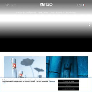 KENZO Parfums Site Officiel - Home Page