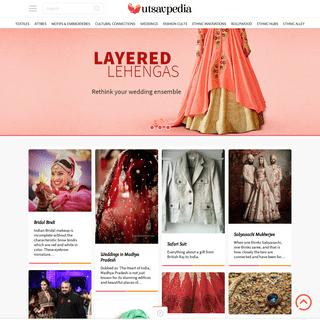 Utsavpedia - Encyclopedia of Indian Ethnic Fashion, an initiative by Utsav Fashion