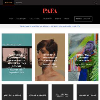 PAFA - Pennsylvania Academy of the Fine Arts - Since 1805