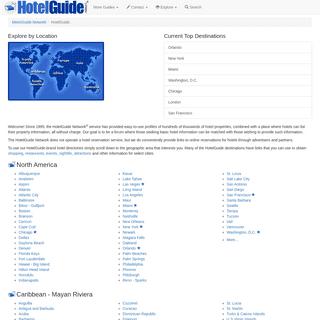 Worldwide Hotel Directory - HotelGuide Network®