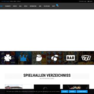 spielo24.de – Das Portal für alle Spielhallen in Deutschland.
